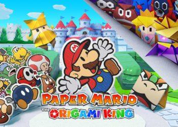 paper mario king nintendo switch