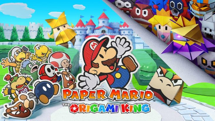 paper mario king nintendo switch