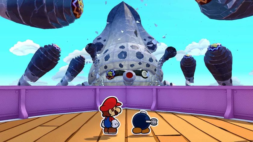 boss Paper Mario The Origami King