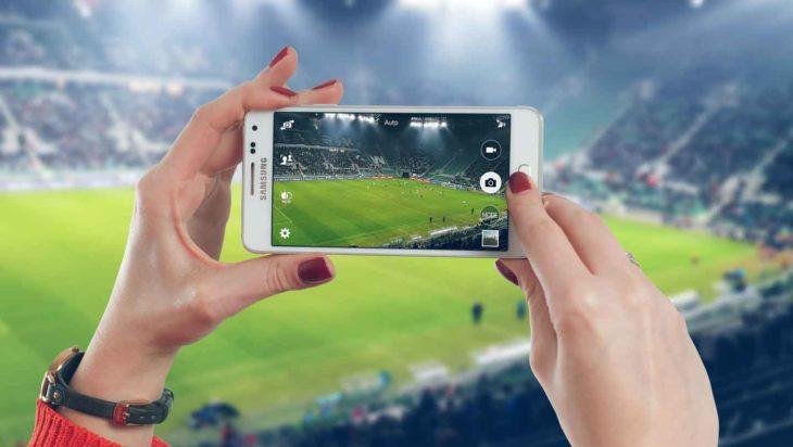 football smartphone